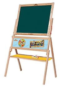 Дървени играчки - ученическа дъска Лео